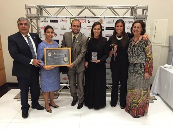 Brascod recebe prémio de Referencia Nacional e Qualidade Empresarial do ano de 2015