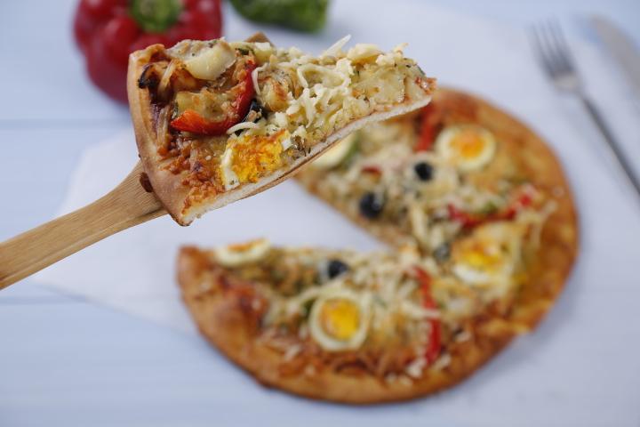 Pizza de Sr. Bacalhau