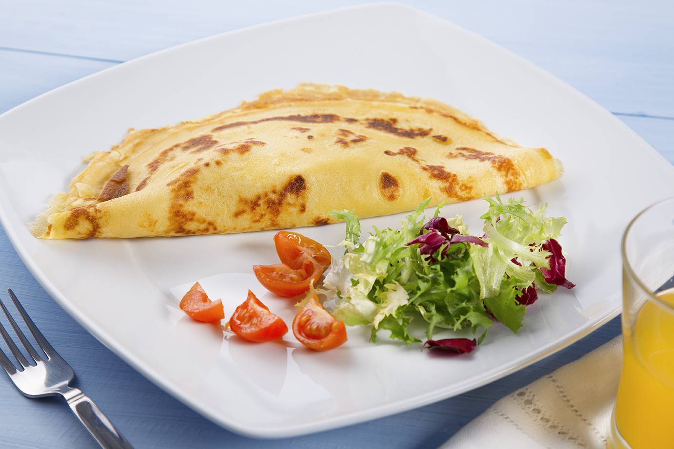 Crepes de Sr. Bacalhau