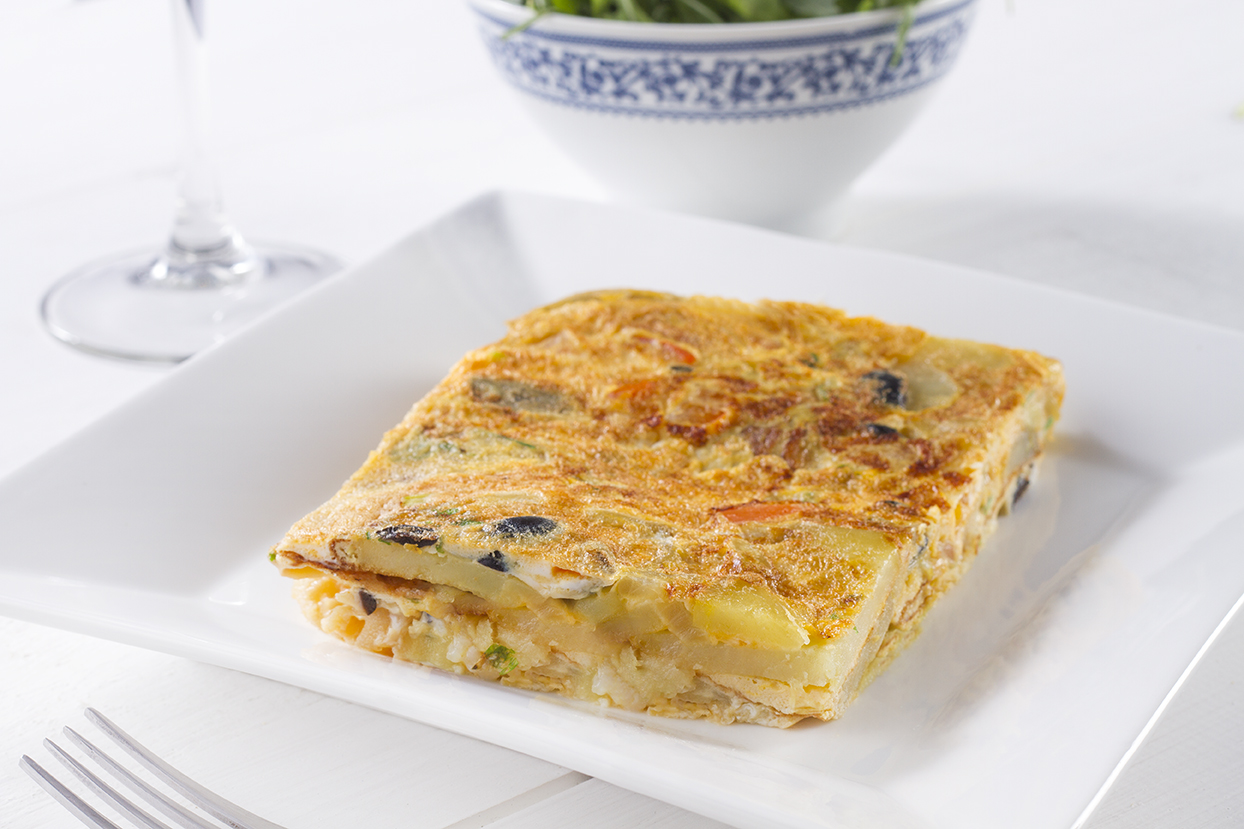 Tortilha de Sr. Bacalhau