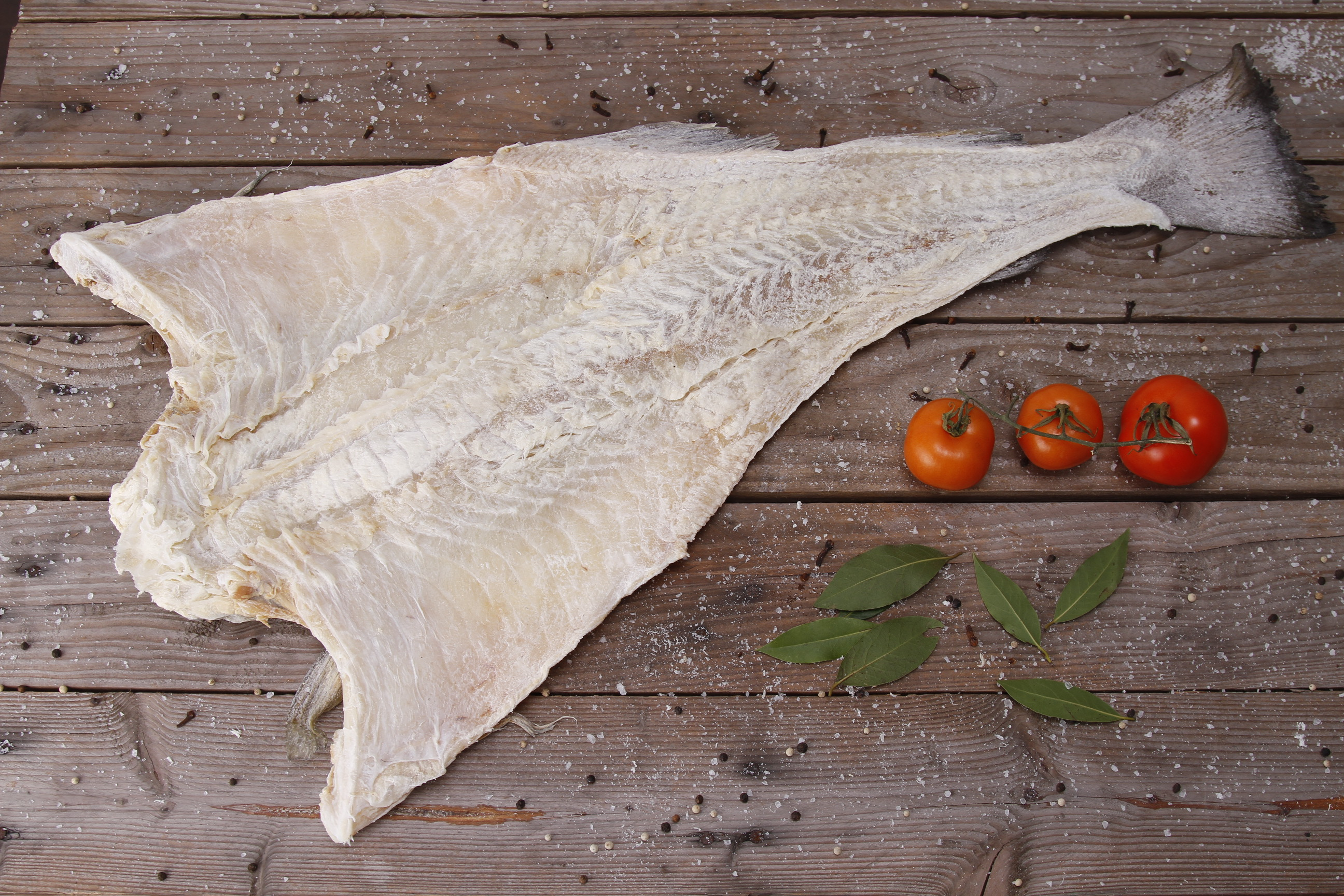 Norwegian Whole Salted Cod